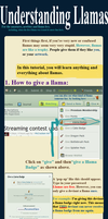 Understanding Llamas(TUTORIAL.EVERYTHING LLAMA) by Thecarpetwhale