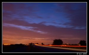 Colours in The Night by iker