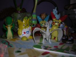Pokemon Figures by Aqws7