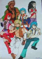 New generation of Fairy Tail by Punkkis-chan