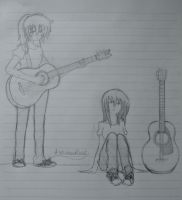 me and my guitars by autumnbluez