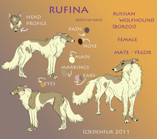 Rufina reference by Edenfur