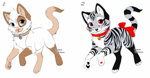 Kitty Point Adopts Batch 4 CLOSED by Akssel-Adopts