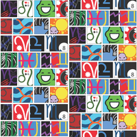 Homestuck Fabric Pattern by BeyondTherapy