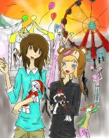 At the Carneval by thecatKShiki