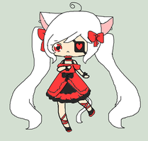 Dark Lolita adopt~closed by Chibii-chii