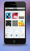 Dribbble Mobile Redesign by messinmotion