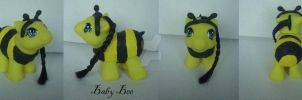 My little Pony Customs Halloween Baby Bee US$27,50 by BerryMouse