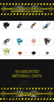 Metaball c4d pack 1 by Exodus by Beastbomb