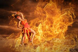 Fire Dance by michellemonique