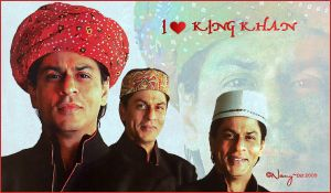 i love king khan by midnight-Nany