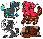 15 Points Adoptables! {1/4 OPEN} by Tiger-Adoptables