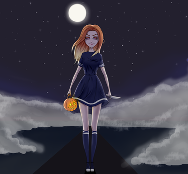 Halloween by FlaffyRibons