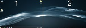 Desktop New Year Dual Display by cclloyd9785