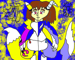 malana in a renamon suit 2 by conlimic000