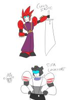 TF and FF by PurrV