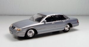 Johnny Lightning 1996 Ford Crown Vic by Firehawk73-2012