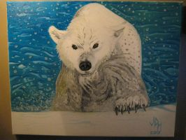 The Polar Bear by jdmacleod