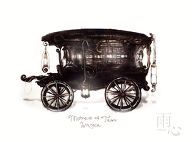 Mistress of Tears Wagon by ameshin