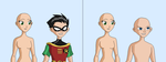 OC and Robin base by Raygirlbases