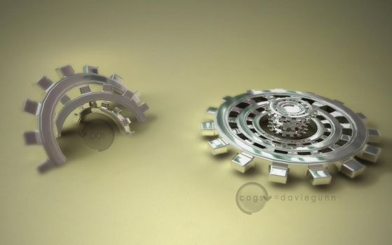 Widescreen WP Cogs by Daviegunn