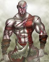 Kratos by CerberusLives