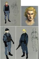 Jake RE6 Extra Costumes 2 by Sparrow-Leon