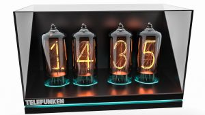 Nixie Clock by BlueX-pl