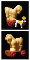 Wishbone DQ Kid's Meal - Trojan Horse by The-Toy-Chest