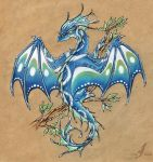 Early spring dragon by AlviaAlcedo