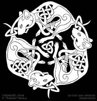 Rat Knotwork by dakazi