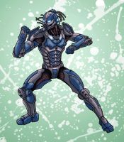 Cyber Sub-Zero by edcomics