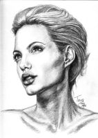 Angelina Jolie by TerryXart