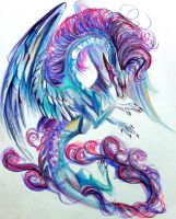 Cotton Candy Dragon by Lucky978