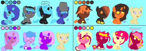 Mlp Foal Adopts - Palette Thingies! by emportant