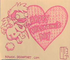 Happy Valentine's Day by Ferwildir