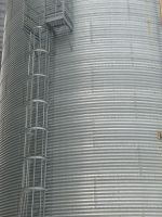 Grain Elevator with ladder by dull-stock
