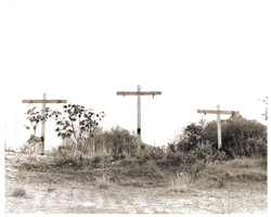 Crucifixes - Sepia by Psychedelic-Freak