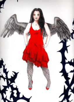 Amy Lee Angel by FairyAshes