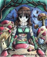 mushrooms and butterflies3 by mistress408