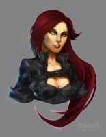 LoL: Katarina by Milled