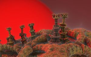 Search Party on Arcturus 4 by eclecticeric