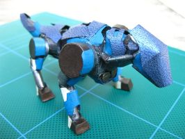 Mini Zoids by PaperBot