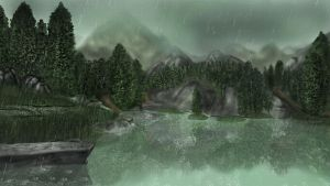 Downpour Lake by K-Mate