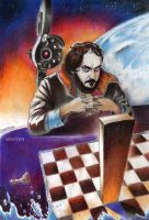 Check-lith tribute to Kubrick by AFANTINI