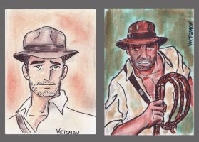 Indy vs Indy by victomon