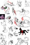 Assorted Creature Dump by Crimson-Miz
