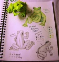 026-085 - A little green froggy by sweetmarly