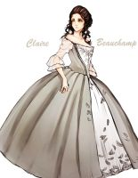 Claire - Outlander by Sibylance