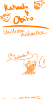 Kakashi and Obito doodle comic by Miss-Sheepy